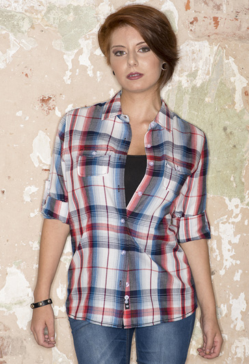 5222 Ladies Plaid